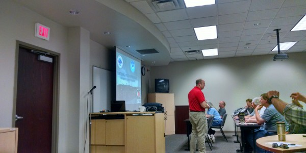 2015-08-18 – Fred McMullen – NWS – Skywarn Training